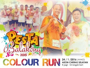 Pesta Balakong Color Run 2016