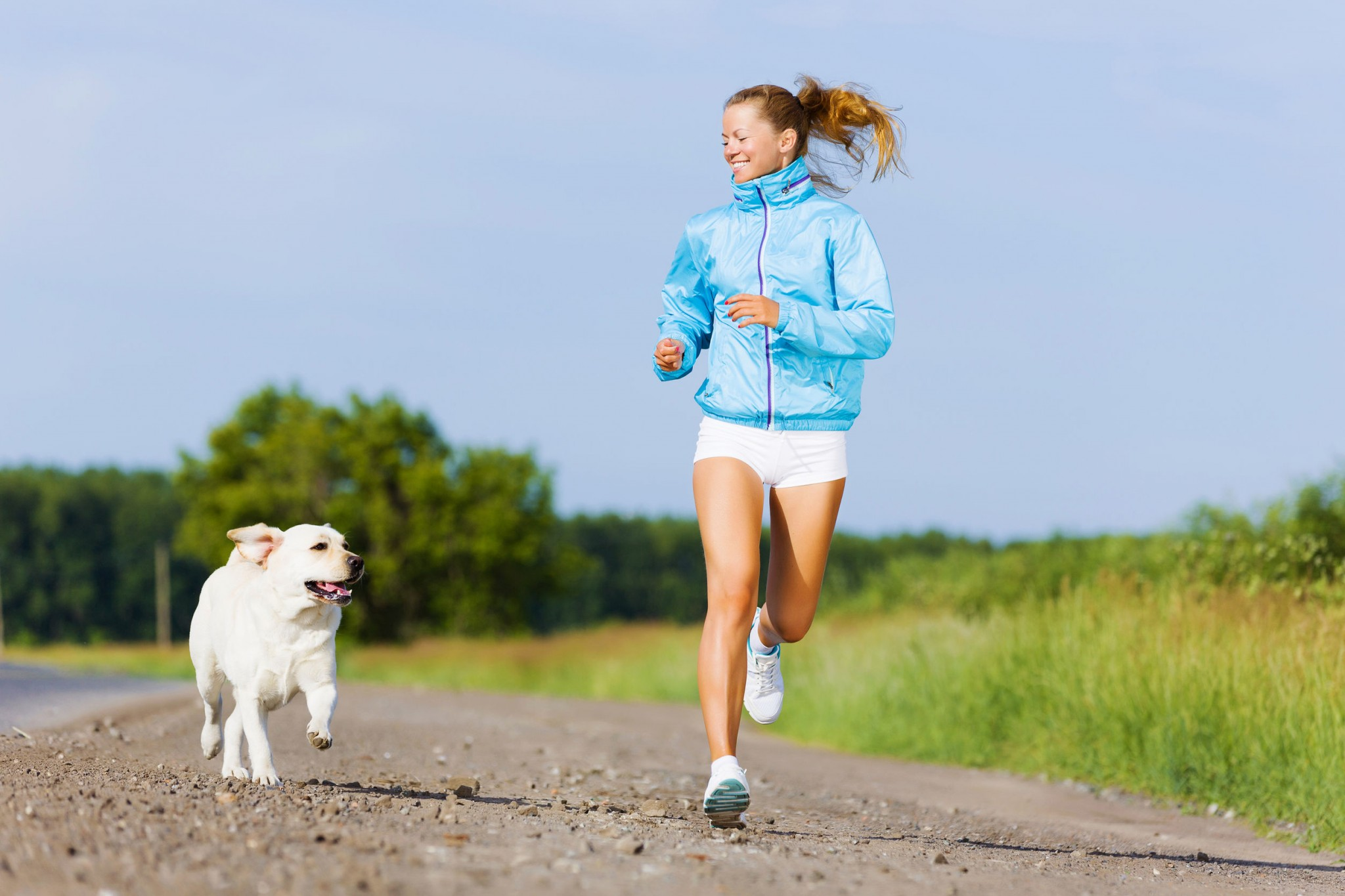 runner with dog 2