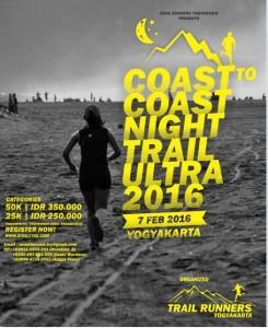 Coast to Coast Night Trail Ultra 2016