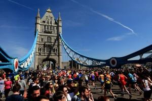 Athletics - 2013 Virgin London Marathon - London