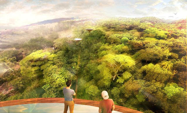 Part of the corridor will feature panoramic views of the Bukit Timah Nature Reserve.