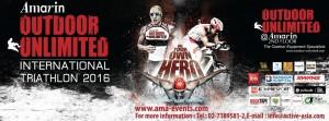 The Amarin Outdoor Unlimited International Triathlon 2016