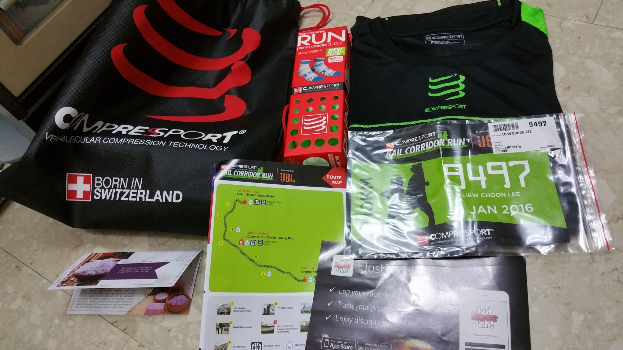 The Race Entry Pack