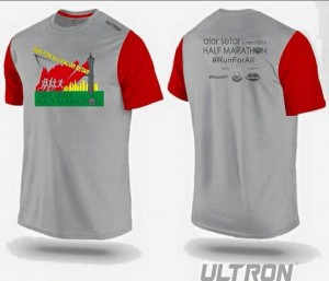 Race shirt. Photo courtesy: Official Event FB page.
