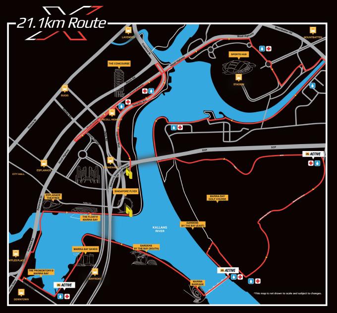 21km Route