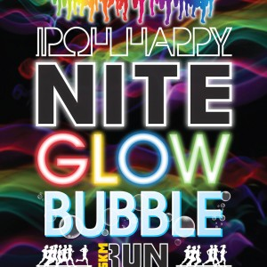 Ipoh Happy NITE GLOW Bubble Run 2016