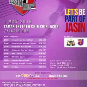 Jasin Extreme Sports Challenge 2016 – Jasin Run