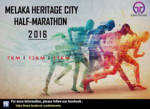 Melaka Heritage City Half Marathon 2016