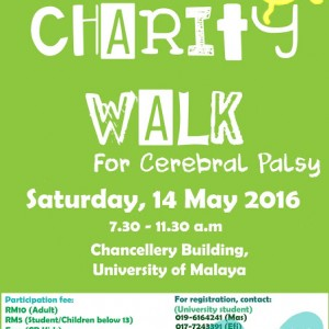 FEAUM Charity Walk for Cerebral Palsy 2016