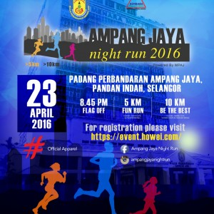 Ampang Jaya Night Run 2016