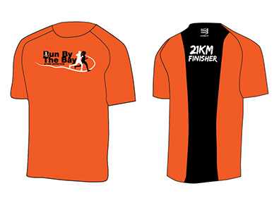 CSC Run By The Bay Finisher Tee