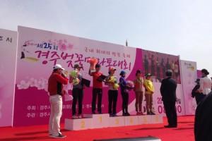 Female winners for Half Marathon