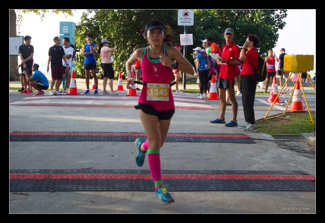 justina running