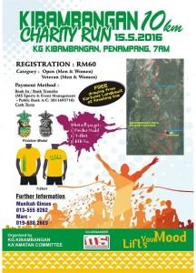 Kibambangan 10km Charity Run 2016