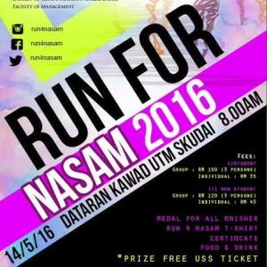 Run For NASAM 2016