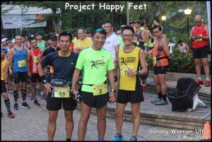 with Sng Boon Heng (green), Huang Shaofei (yellow)