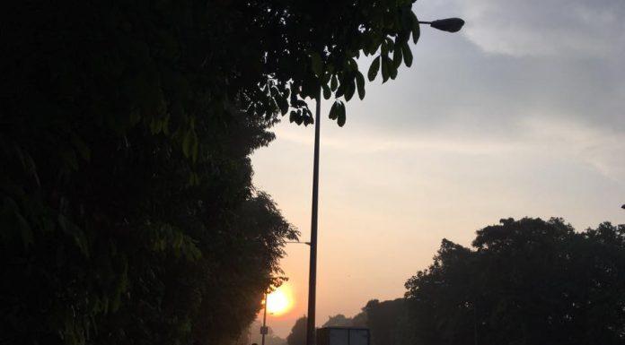 beautiful sunrise - Lornie Road