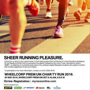BMW Wheelcorp Premium Setia Alam Charity Run 2016