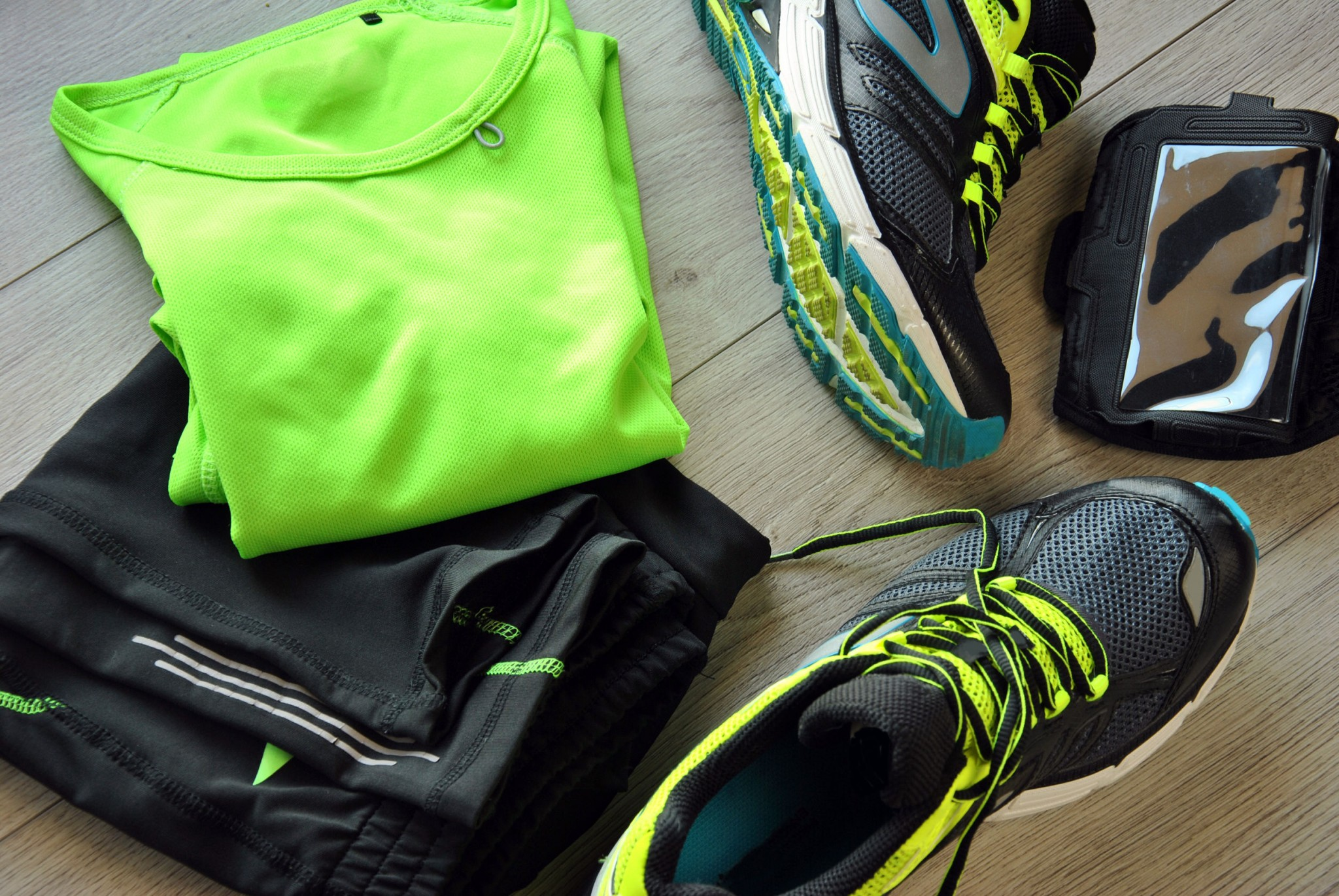 clothes running gear