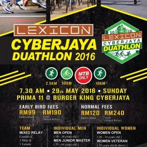 Lexicon Cyberjaya Duathlon 2016