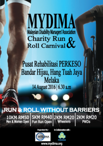 MYDIMA Charity Run & Roll 2016