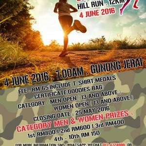 Gunung Jerai Hill Run 2016