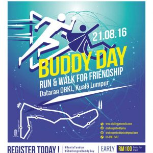 Challenges Buddy Day 2016: Run & Walk For Friendship