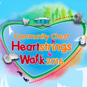Community Chest Heartstrings Walk 2016