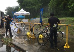 Bikes getting a wash :)