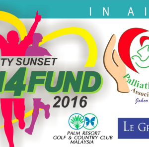 Palm Resort Sunset Charity Run4Fund 2016