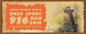 Larian Bandar Diraja Oren Sport Run 2016
