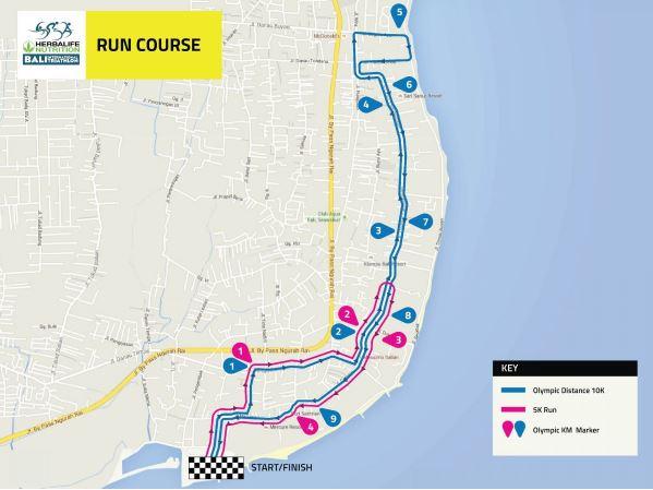Race map