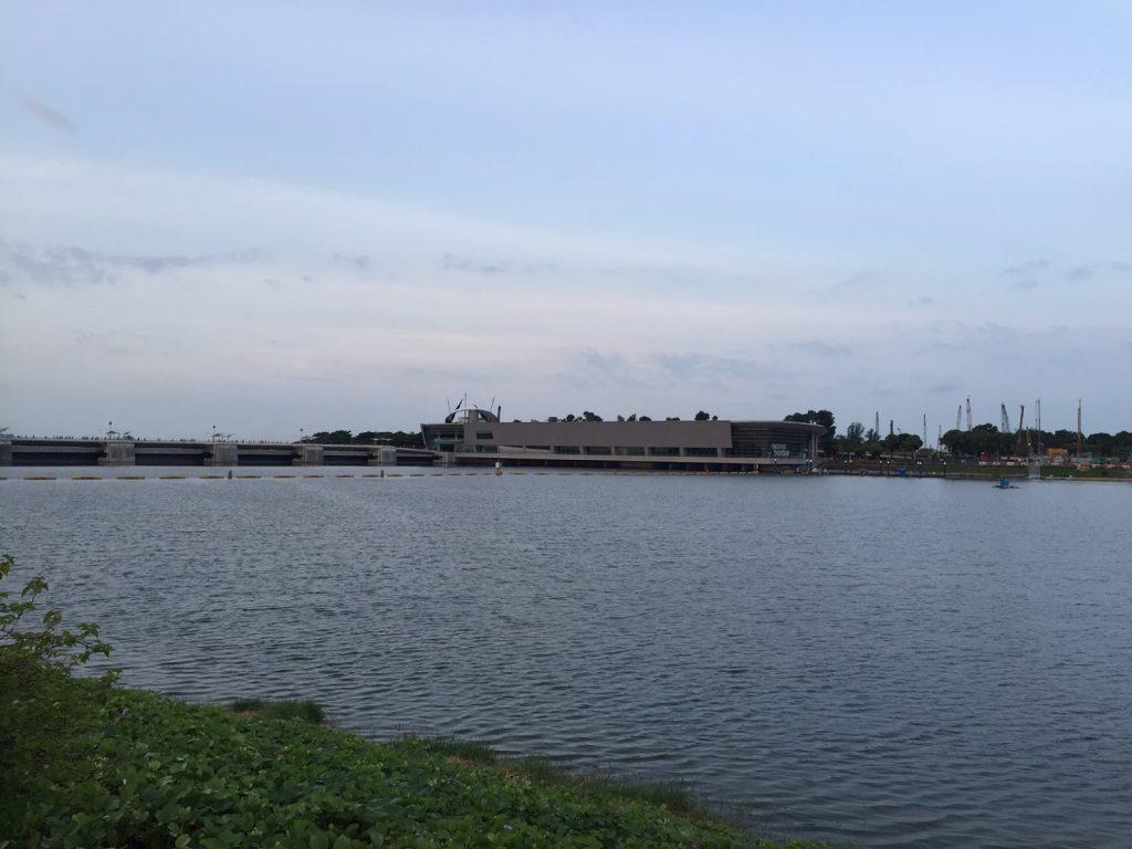 All Familiar Marina Barrage