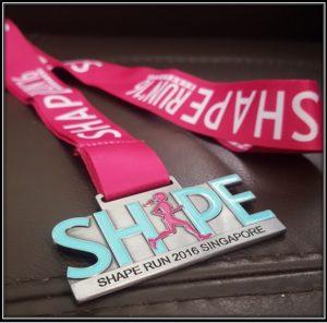 SHAPE Medal
