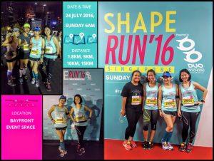 SHAPE Run 01