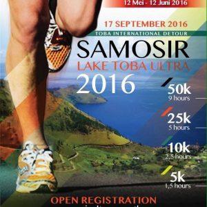 Samosir Lake Toba Ultra 2016
