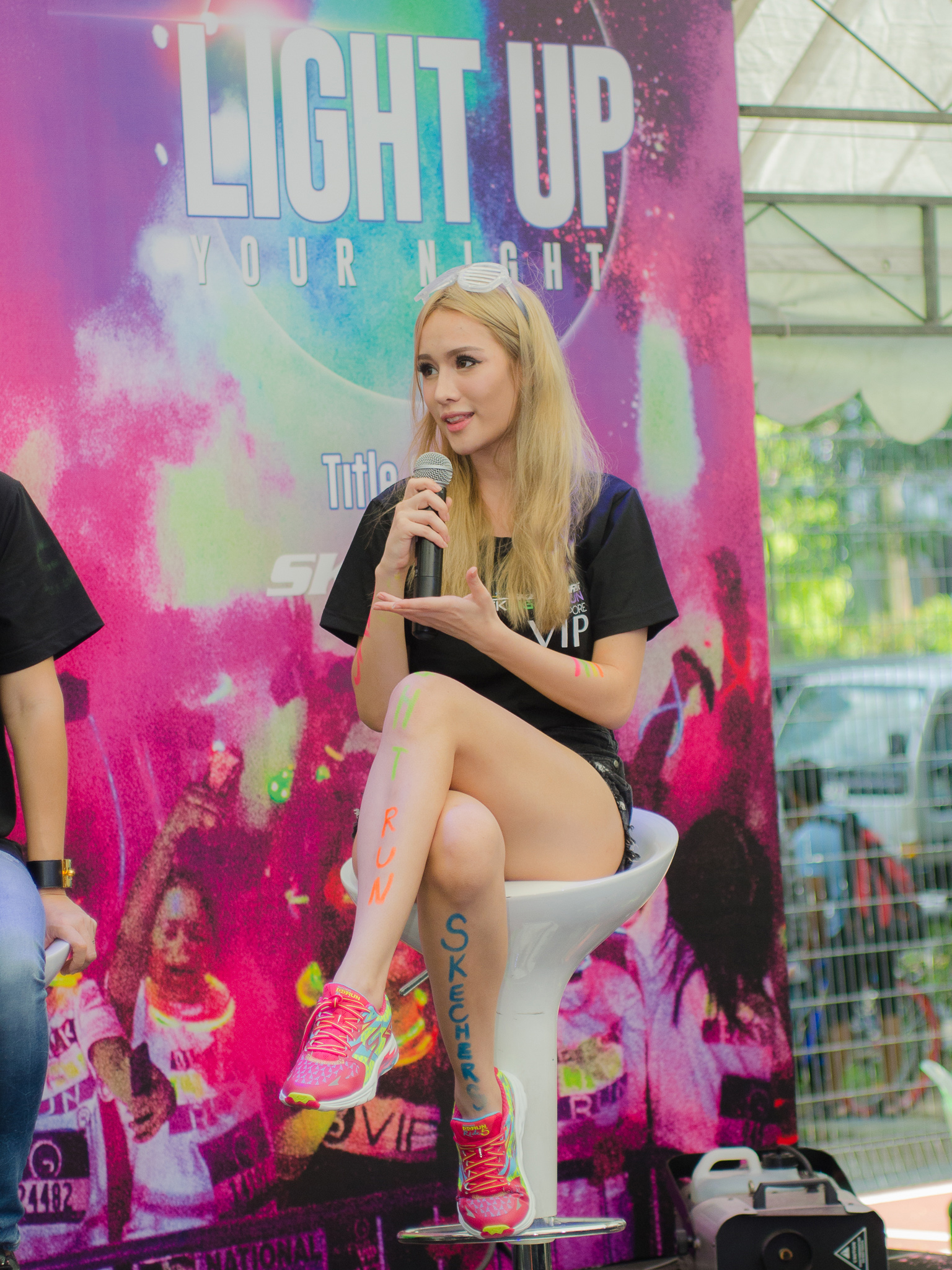 Sketchers Black Light Run 2016 Media Launch [1-Jul-2016]-12