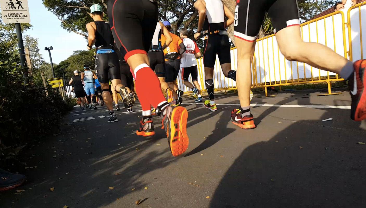 Close-up-runner-feet