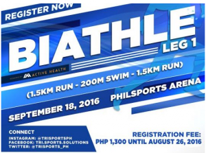Biathle Leg 1 2016