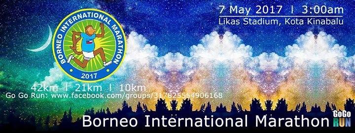 Borneo International Marathon 2017   Just Run Lah!