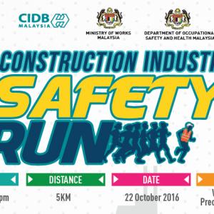 CIDB Construction Industry Safety Run 2016
