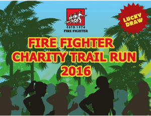 Fire Fighter Charity Trail Run 2016