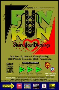 Fun Run Share Your Blessings 2016