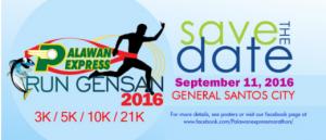 Palawan Express Run GenSan 2016