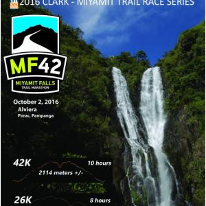 Miyamit Falls Trail Marathon (MF42) 2016
