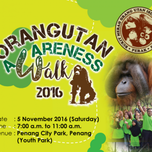 Orangutan Awareness Walk 2016