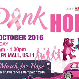 Pink March for Hope 2016