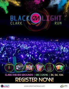 Color Manila Blacklight Run – Clark Leg 2016