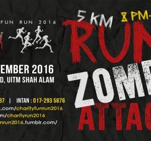 Charity Fun Run Zombie Attack 2016