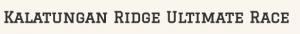 Kalatungan Ridge Ultimate Race 2016